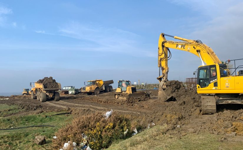 SHELFORD LANDFILL SITE MARCH 2021